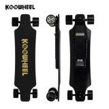 Motor dual teledirigido Longboard eléctrico de cuatro ruedas de la rueda del eje de Koowheel