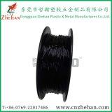 Qualidade elevada 1,75mm 3 mm de plástico flexível de filamentos de borracha para 3D material da impressora