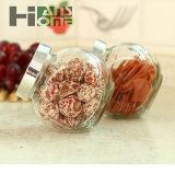 200mlガラス記憶の瓶甘いキャンデーのびんの花の茶によって密封される瓶のガラス蜂蜜のびんのFlavoringのびん