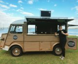 ヴァンアイスクリームのケイタリングか販売のための型の食糧トラックヴァン