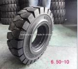6.00-9 포크리프트 타이어, 지게차 단단한 타이어 6.00-9