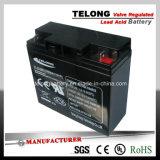 Безуходная загерметизированная свинцовокислотная батарея силы (12V12AH)