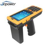 Één-hand de Androïde Terminal van de Scanner PDA van de Streepjescode van de Riem van de Pols van de Verrichting