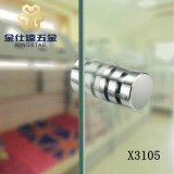 Banho de aço inoxidável porta do chuveiro/cabo do botão X3105