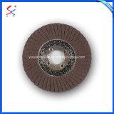 Borboleta de óxido de alumínio discos abrasivos com reforço de fibra de vidro