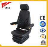 China Volove carretilla asiento con ajuste de altura de suspensión mecánica