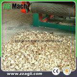 Ampliamente utilizado maquinaria de motor diésel de bosque de madera de tambor de la máquina de chipping