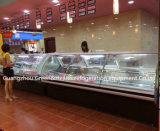 Supermarché réfrigéré de charcuterie servir Reports