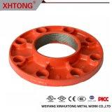 Flangia filettata rossa realizzata in Cina con alta qualità da Xhtong