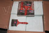 Естественное смешивание щетинки сплющило щетку краски пластичной ручки нити регулируемую (TPA0114)