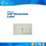 Tag Ucode do pára-brisa da freqüência ultraelevada 860-960MHz para o controle de acesso