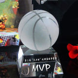 K9 Crystal Trophy Ball para basquete