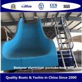 De Boot van het Ponton van het Aluminium van Bestyear met Dia