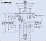 528tons油圧射出成形機械こんにちはG528