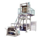 Machine de soufflement de courier de sac de double couche de film efficace élevé de coextrusion