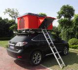 Manuell durchgedrehtes hartes Shell-im Freienauto-Dach-Oberseite-Zelt für das Kampieren