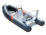 Aqualand 14feet die 4.2m de Stijve Opblaasbare Boot van de Motor /Fiberglass de Boot van de Rib vissen (RIB420B)
