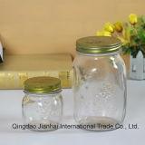 Geprägte Weinlese-Muster-Glas-Speicher-Flasche für Weihnachtsdekoration