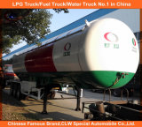 3 asse 56000L GPL Tank Trailer 25tons GPL Trailer 20tons GPL Gas Trailer per la Doubai