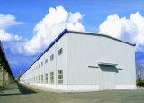 Edificios industriales del acero del almacén de la construcción de las vertientes del marco ligero