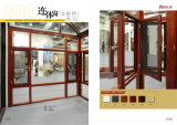 品質Sunroomsの緩和されたガラスとのアルミニウムフレームの入り口Windows