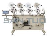 Rollo a rollo de impresión y la máquina de etiquetado