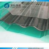 Feuille ondulée solide de polycarbonate de tuiles de toit de PC de qualité