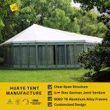 イベントのための屋外のClearspanの大きい玄関ひさし党テント