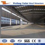 Estrutura de aço de fábrica na China Prefab construção de painéis do tipo sanduíche com preço de armazém