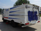 6 바퀴 거리 청소원 트럭 6cbm 포장 도로 청소 트럭