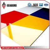 El panel compuesto de aluminio del PE de Ideabond (ACP) para la cartelera
