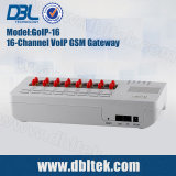 32 Puertos SIM Box Gateway GSM GoIP32 para terminación de llamadas VoIP