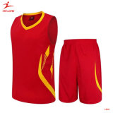 Conception Healong Start-Sky Sublimation de gros de maillots de basket-ball des uniformes des chemises