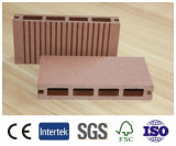 防水標準的な木製のプラスチック合成の表面の紙やすりで磨くWPCのDecking