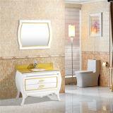 Hangzhou-neuer konzipierter Fußboden, der wasserdichten PVC-Badezimmer-Schrank steht