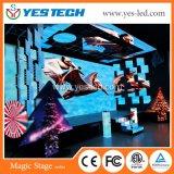 전문가 SMD 풀 컬러 500*500mm 단계 배경 LED 내각