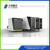 С ЧПУ 1500 Вт полной защиты металлические волокна лазерная резка оборудование 3015