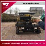 El gasóleo agrícola 800cc volcado con las cuatro ruedas ATV con remolque