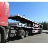3 차축 40FT 평상형 트레일러 콘테이너 트럭