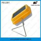 Lámpara de escritorio solar calificada con 2 años de la garantía de Rechargeble de luz de la batería (PS-L001)