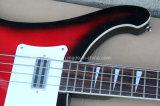 Нот Hanhai/гитара красного типа Рик электрическая басовая (модель 4003)