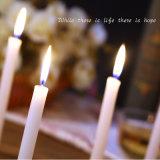 vela blanca barata del color de la venta caliente del paquete 8PCS