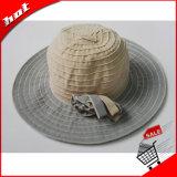 Sombrero de paja de papel de las mujeres de Sun de la paja