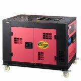 8kw tipo silenzioso raffreddato ad acqua EV80 grande generatore diesel del cilindro di monofase 2