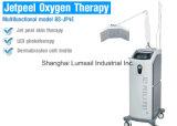 Revisiones faciales claras agua del jet y rejuvenecimiento de la piel de la burbuja del oxígeno