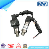 Transmissor de pressão industrial de silício de aço inoxidável difuso
