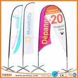 Bandiera esterna attraente delle bandierine di spiaggia