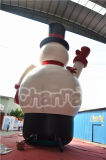 Publicité gonflable jouet gonflable Noël neige Homme