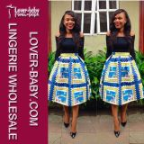 Afrikanischer Druck-Bleistift Bodycon reizvolles Klumpen-Kleid (L36093)