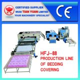 Trapunta non tessuta che fa la linea di produzione (HFJ-88)